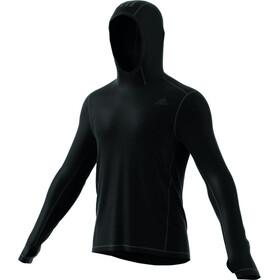 adidas Response Climawarm Hardloopshirt lange mouwen Heren zwart
